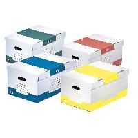 Boite A Archive Container pour boites d'archives avec couvercle - Manuelle - Assortis