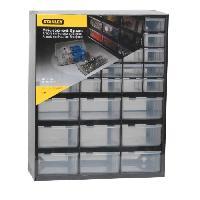 Boite A Compartiment - Organiseur - Element De Separation (vide) Casier de rangement 39 compartiments vide