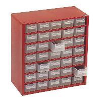 Boite A Compartiment - Organiseur - Element De Separation (vide) Casier vide en metal 35 tiroirs