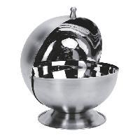 Boite A Sucre - Sucrier EQUINOX Sucrier de forme boule 13.5 cm gris