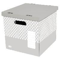 Boite De Classement 2 Boites de rangement cube Gamme Deco