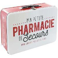 Boite De Rangement - Bac De Rangement Boite en Metal Pharmacie