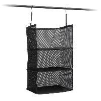 Boite De Rangement - Bac De Rangement Etagere pliable - Organisateur de valise - 3 compartiments - 45 x 80 x 30 cm