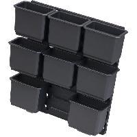 Boite De Rangement - Bac De Rangement Outils (vide) KS TOOLS Lot d'inserts pour boite de transport SCM. 9 pieces Kreidler