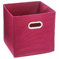 Boite De Rangement - Bac De Rangement Tiroir de rangement - 31 x 31 cm - Rouge framboise Aucune
