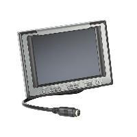 Boite Noire Video - Camera Embarquee Moniteur universel pliant 16-9 4-3 - 5 pouces camera recul 3 entrees video - noir anthracite