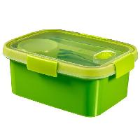 Boites De Conservation - Boites Hermetiques CURVER Smart Lunch box 1.2L avec couverts