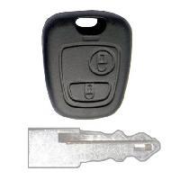 Boitier - Coque De Cle - Telecommande PSA20 - Coque PSA 2 boutons