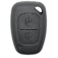 Boitier - Coque De Cle - Telecommande REN20 - Coque de cle electronique pour Renault KangooTraficMaster - 2 Boutons - ADNAuto