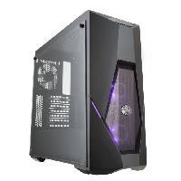 Boitier - Station Pour Composant Pc COOLER MASTER Boîtier PC MasterBox K500 avec RGB LED fan