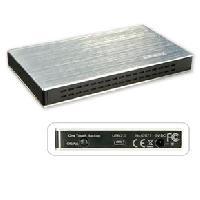 """Boitier - Station Pour Composant Pc LINDY Boîtier USB 2.0 pour disque dur SATA 2 -5"""" - One - Touch - Backup"""