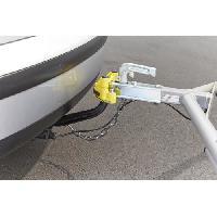 Boitier D'attelage - Rotule Attelage Antivol Tete d'Attelage Permanent pour Remorque