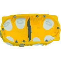 Boitier D'encastrement Boite a encastrer Energy 2 postes plaque de platre