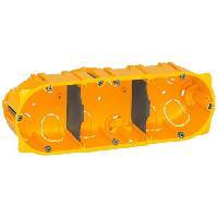 Boitier D'encastrement LEGRAND Boîte d'encastrement 3 postes plaque de plâtre