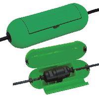 Boitier Protection Prise - Boitier Protection Rallonge BRENNENSTUHL Boitier de protection de circuits electriques Safe-Box