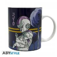 Bol - Mug - Mazagran Mug Dragon ball - 320 ml - DBZ- Freezer VS Goku - porcelaine avec boite x2 - ABYstyle