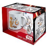 Bol - Mug - Mazagran Pack Mug + Porte-clés + Sticker Star Wars - BB8 - ABYstyle