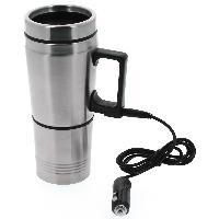 Bol - Mug - Mazagran Thermos electrique avec tasse 500ml pour vehicule - 12V Carplus