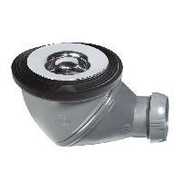 Bonde - Cabochon  Bonde de douche James - D60 mm - Grille en ABS chrome