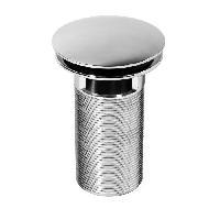 Bonde - Cabochon  WIRQUIN Bonde lavabo Quick-Clac laiton 100mm