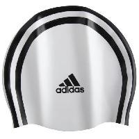 Bonnet De Bain - Bonnet De Piscine - Bonnet De Natation - Cagoule De Plongee ADIDAS Bonnet de bain SILI 3S CAP - BLANC - Adidas Performance