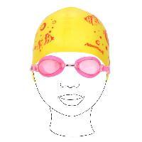 Bonnet De Bain - Bonnet De Piscine - Bonnet De Natation - Cagoule De Plongee Kit Piscine Swim Girl + Lunettes + bonnet Junior - Generique