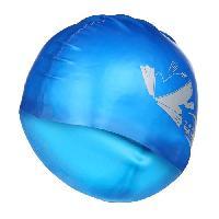 Bonnet De Bain - Bonnet De Piscine - Bonnet De Natation - Cagoule De Plongee SEAC Bonnet en Premium Silicone - Enfant - Bleu