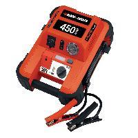 Booster De Batterie - Station De Demarrage BDJS450i Aide de demarrage 450A avec compresseur - BlacketDecker