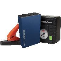 Booster De Batterie - Station De Demarrage Coffret Assistance Booster 6000mA gonfleur chargeur tel lampe led MPB6000 - Promo -