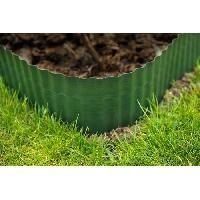 Bordure 9 bordures a gazon polyethylenes verts H20 cm