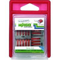 Borne - Bornier WAGO Blister de 5 bornes 5x25mm2