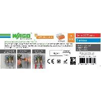 Borne - Bornier WAGO Seau 100 bornes - 2273 - 3 entrees