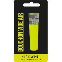 Bouchon Bouteille - Bouchon Doseur Bouchon pompe vide d'air - Vert - Class Wine