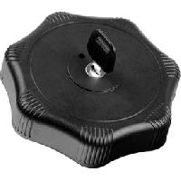 Bouchon De Reservoir Bouchon de reservoir avec cle 80mm Noir Acier - ABS HTC - Lampa