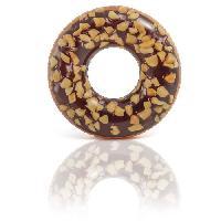 Bouee - Brassard - Flotteur - Gonflable De Securite Enfant Bouee Tube Donut Choco Noisette 114 Cm