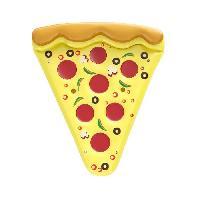 Bouee - Brassard - Flotteur - Gonflable De Securite Enfant Bouee gonflable - Part de Pizza
