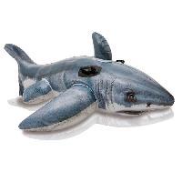 Bouee - Brassard - Flotteur - Gonflable De Securite Enfant Grand Requin Blanc A Chevaucher