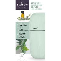 Bougeoir - Photophore - Bougie - Senteur DEVINEAU Diffuseur brumisateur d'huiles essentielles - Vert Generique