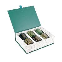 Bougeoir - Photophore - Bougie - Senteur THE HOME DECO FACTORY Bougie - Home Deco Art - X6 Coffret - Vert