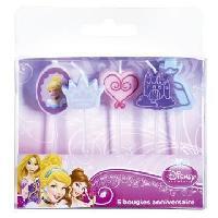 Bougie Anniversaire 5 bougies sur pics Princess
