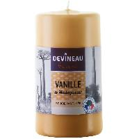 Bougie (hors Anniversaire) Bougie cylindrique GM 70H130 parfumee Vanille Madagascar