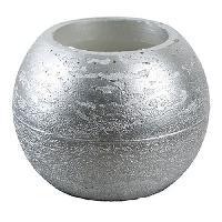 Bougie (hors Anniversaire) CANDLE BALL Set de 2 bougies LED - O18.2 x H.9.5 cm - Framboise Corep