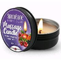 Bougies de massage Bougie de Massage Saveur Fruits Exotiques - 30 ml