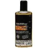 Bougies de massage Huile chauffante comestible gout caramel - 150 ml