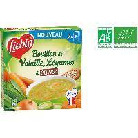 Bouillon - Gelee - Fond Bouillon de volaille. légume et quinoa bio - 2 x 30 cl - Generique