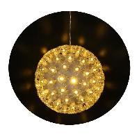 Boule De Noel Boule de Noël ronde - 8 fonctions avec contrôleur et transformateur - Ø 12 cm - Generique