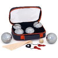 Boule De Petanque - Cochonnet - But - Pack Petanque K-RO Double Triplette 6 boules de pétanque Team Catalogue - K Ro Space