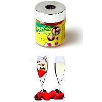 Boules Bresiliennes Saveur Fraise Vin Petillant X6