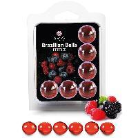 Boules bresiliennes Boules Bresiliennes Saveur Fruits des Bois X6