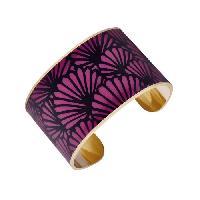 Bracelet - Gourmette LUYIA Bracelet Femme LS18015 violet et noir en laiton